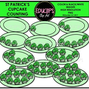 St Patrick' Cupcake Counting
