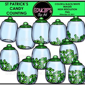 St Patrick's Candy Counting