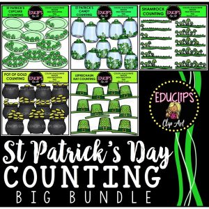 St Patrick's Day Counting