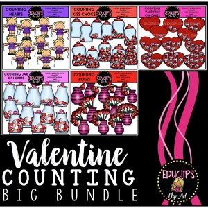 Valentine Counting Big Bundle