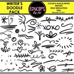 Writer's Doodle Pack