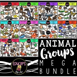 Animal Groups Mega Bundle