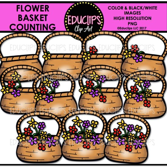 Flower Basket Counting