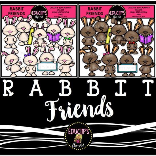 Rabbit Friends Bundle