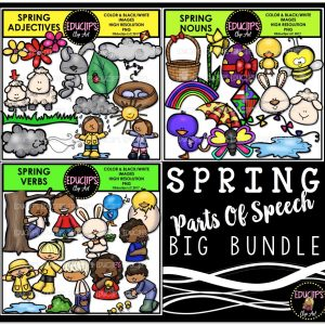 Spring Parts Of Speech Big Bundle
