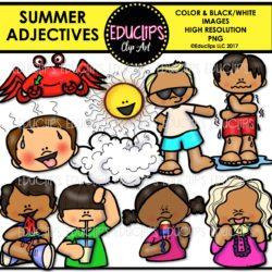Summer Adjectives
