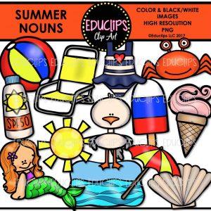 Summer Nouns