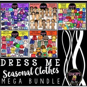 Dress Me Seasonal Clothes Mega Bundle