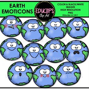 Earth Emoticons