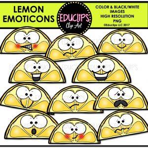 Lemon Emoticons