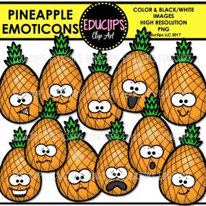 Pineapple Emoticons