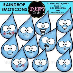 Raindrop Emoticons