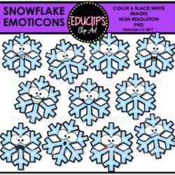 Snowflake Emoticons