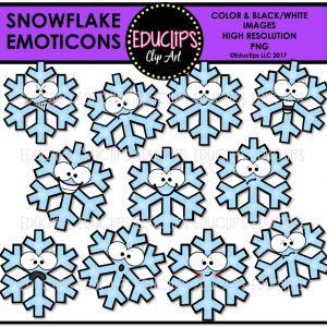 Snowflake Emoticons
