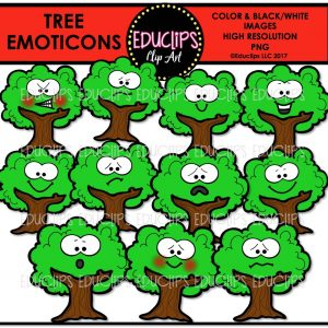 Tree Emoticons