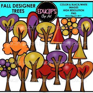 Fall Designer Trees