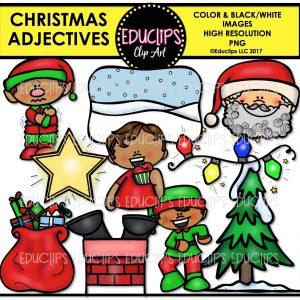 Christmas Adjectives