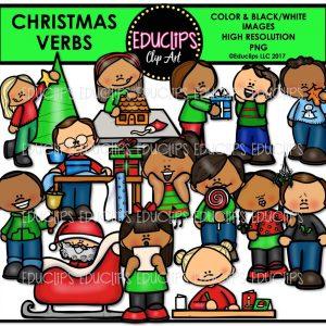 Christmas Verbs