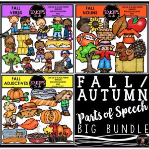 Fall Autumn Parts of Speech