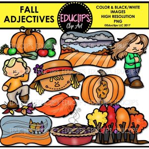Fall adjectives