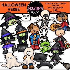 Halloween Verbs