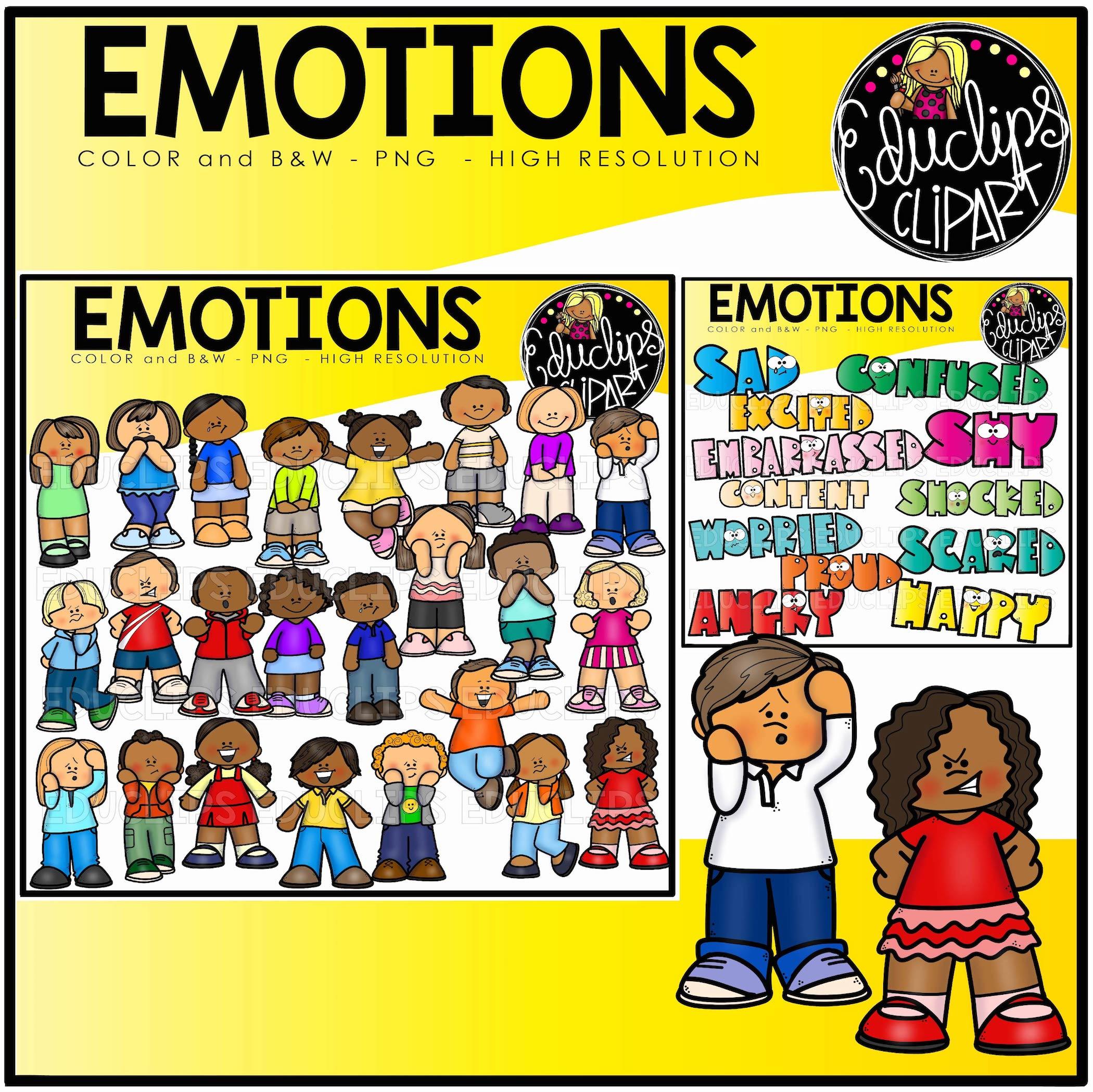 Clip Art Emotions