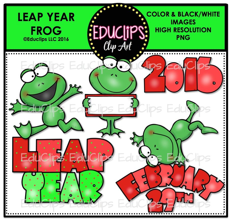 Leap Year Clipart - Clipart Kid
