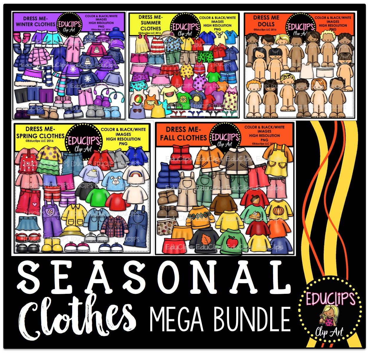 Storing seasonal clothes
