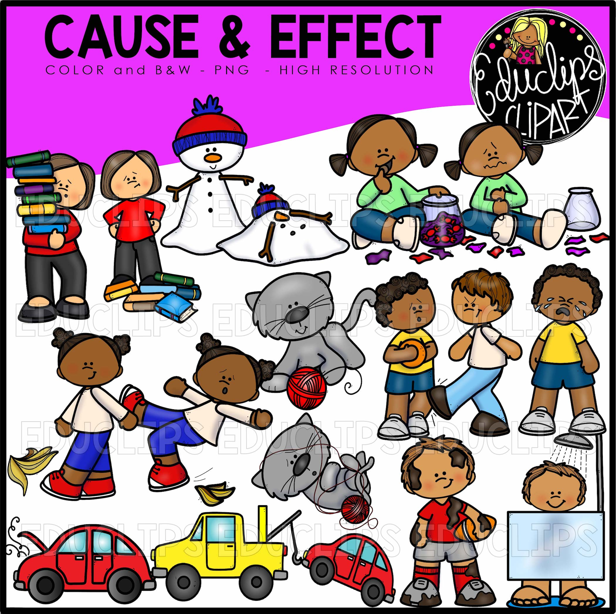 cause and effect art