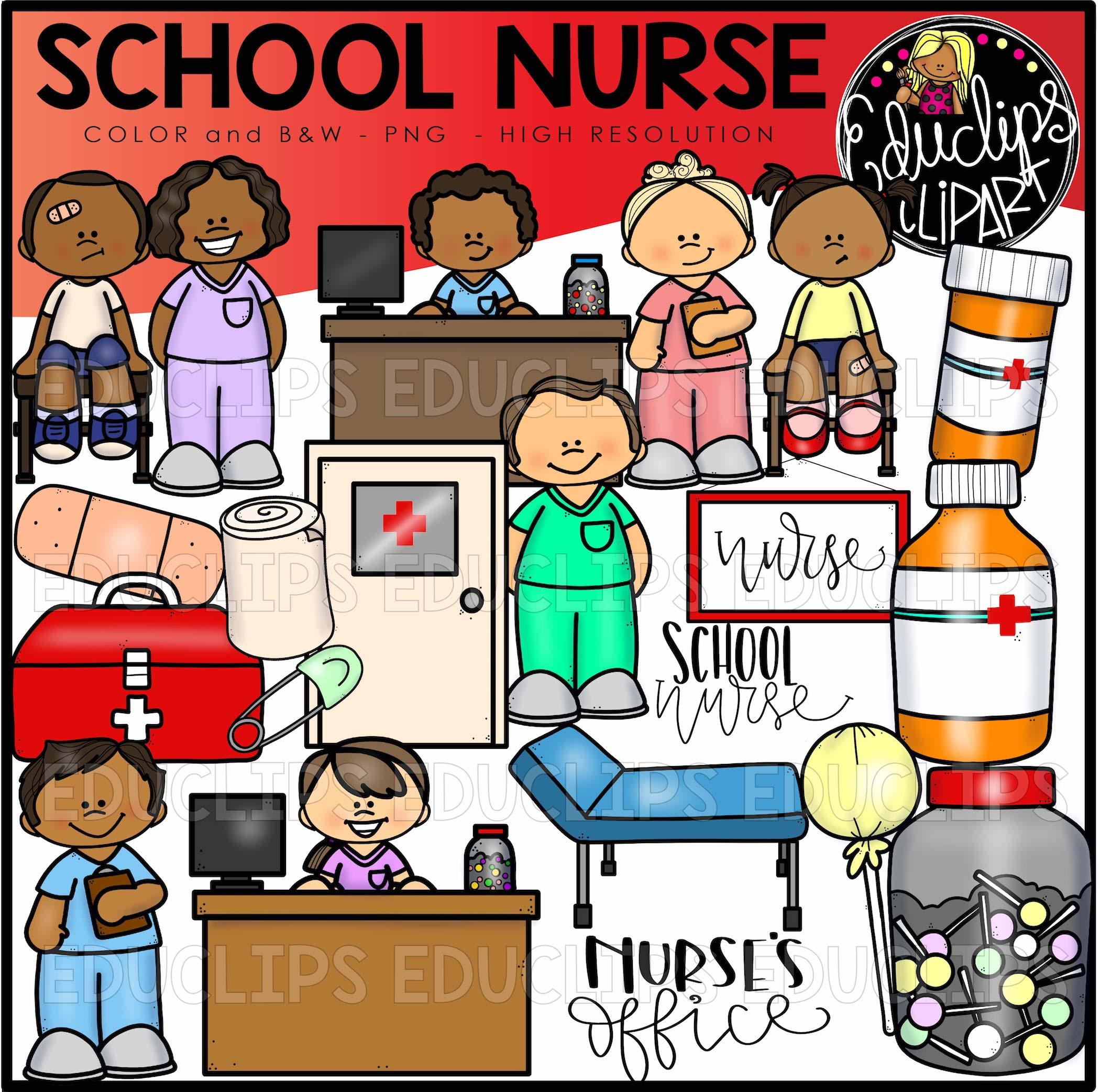 school nurse clip art set welcome to educlips store